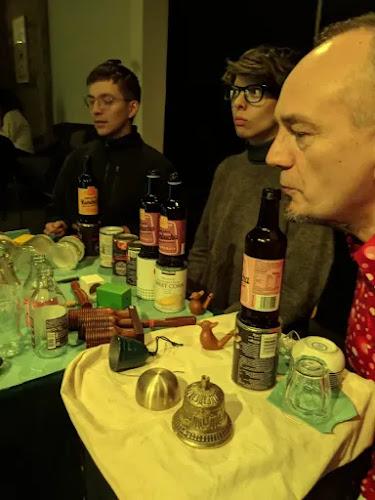 Guðmundur Steinn Gunnarsson: Sinfonia - Andrés Þór Þorvarðarson, Ásthildur Ákadóttir and Gunnar Grímsson during dress rehearsal in Mengi (March 8th 2019) (Photo Guðmundur Steinn Gunnarsson)