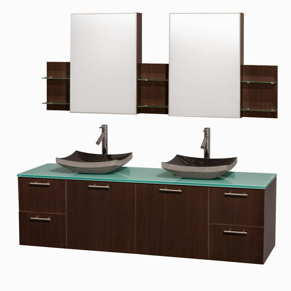 Discount bathroom vanities affordable wall mounted for Restroom vanity