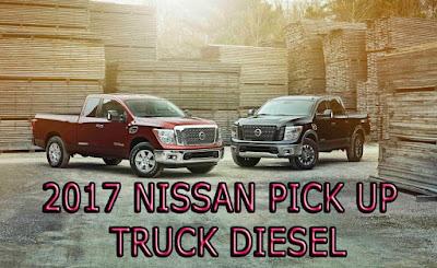 2017 nissan XD Pick up trucks diesel   2017 detroit auto show debuts