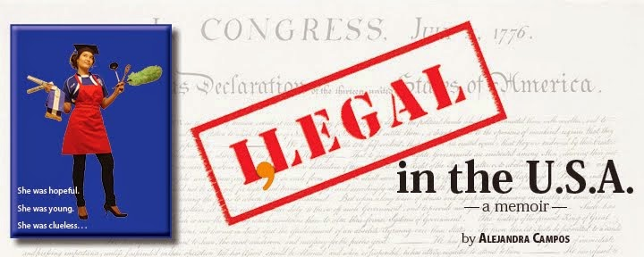 I,Legal in The U.S.A. - a memoir by Alejandra Campos