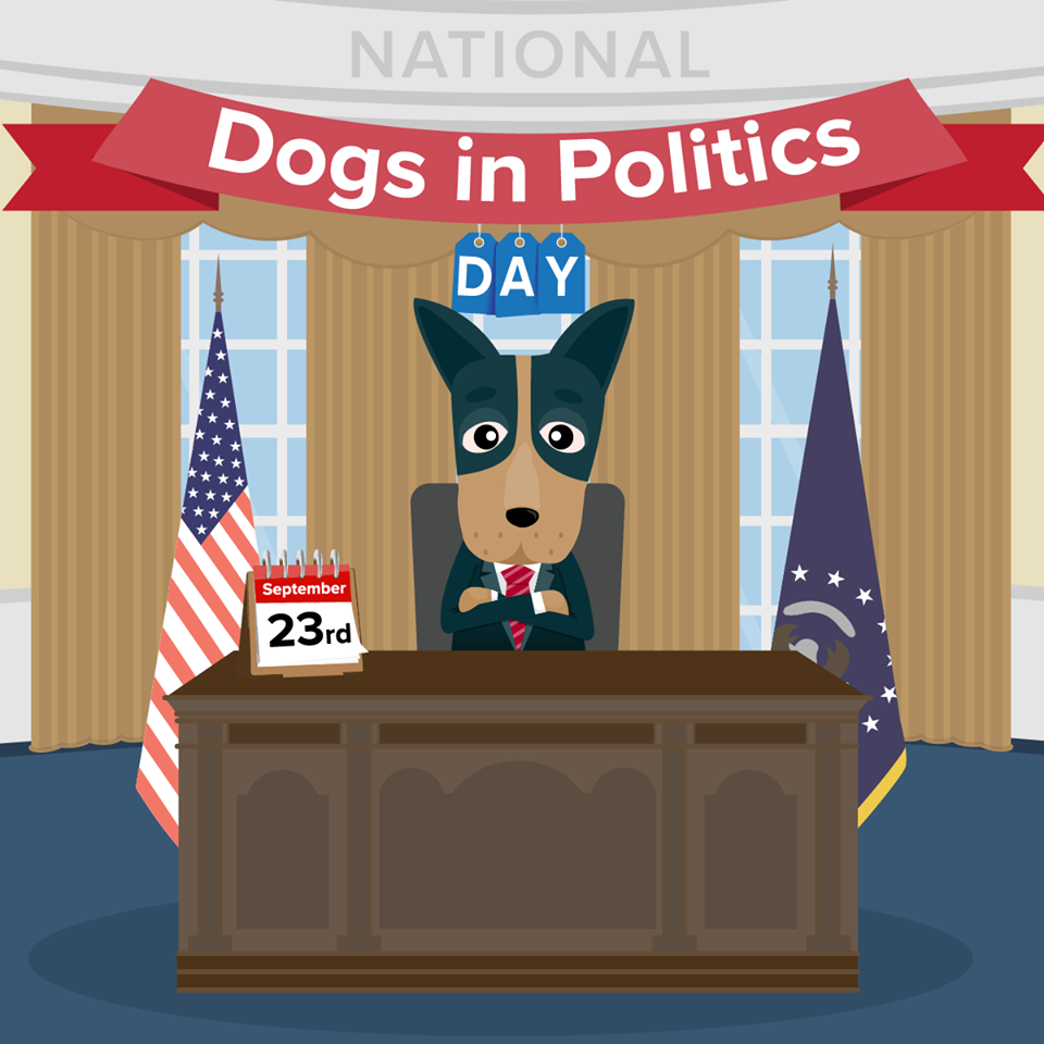 National Dogs in Politics Day Wishes