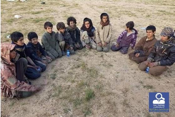 ظلم داعش ضد الاطفال الكرد الايزيدين