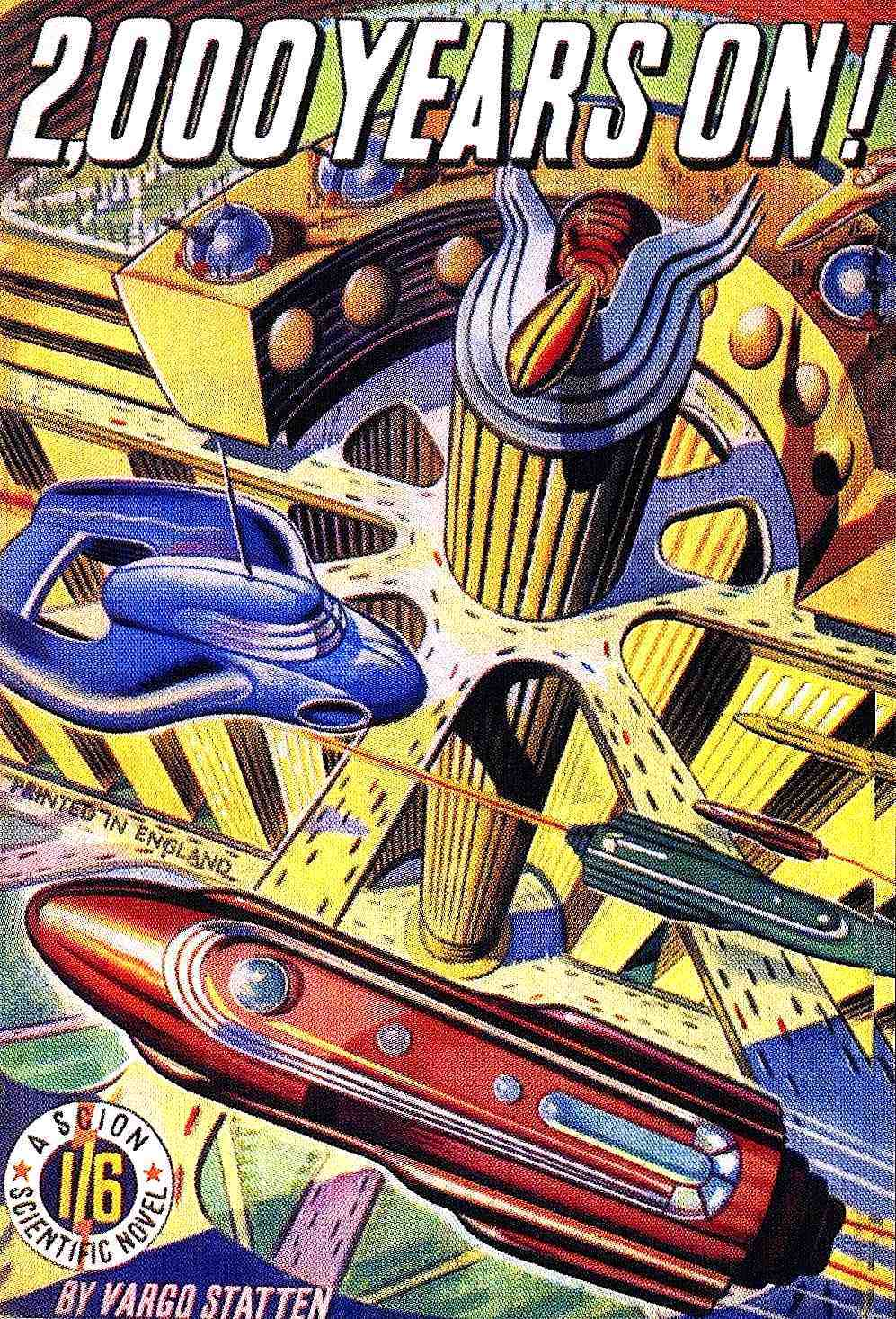 retro-future birdseye illustration
