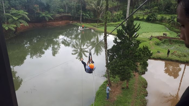 Wahanna permainan di Wisata Green Paradise
