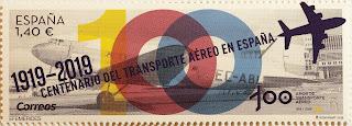 CENTENARIO DEL TRANSPORTE AÉREO EN ESPAÑA