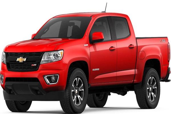 Spesifikasi dan Harga Chevrolet Colorado Terbaru Januari 2018