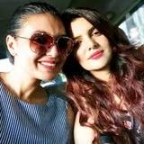 Ihana Dhillon with her sister