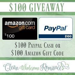 Clean Wholesome Romance / $100 Giveaway