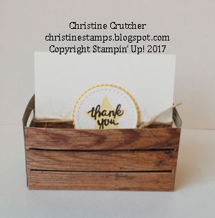 Stampin Up Wood Words