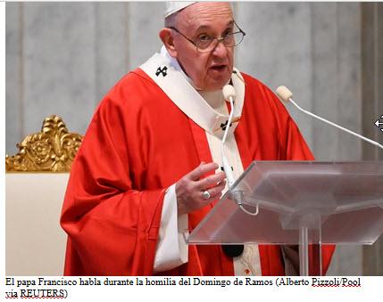 """El papa Francisco : """"En el mundo de las finanzas parece que es normal sacrificar"""""""