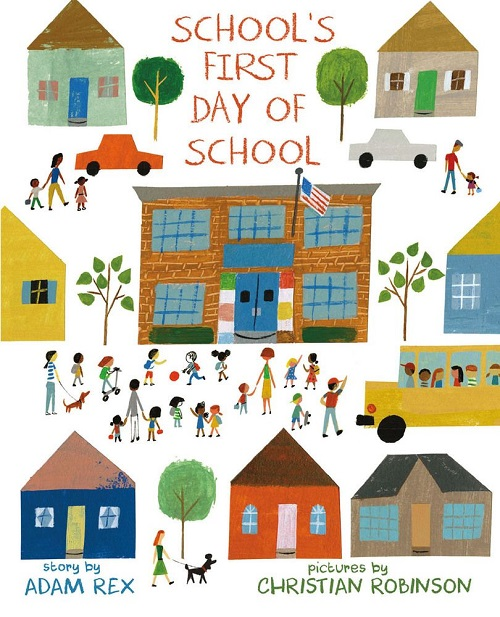 schools first day of school book