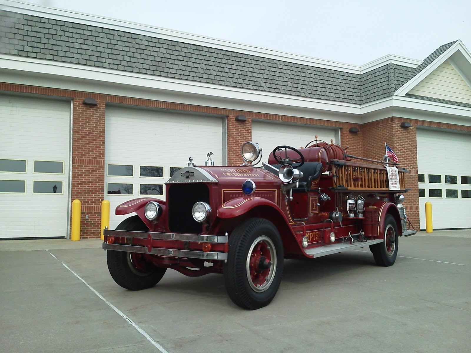 Penfield Fire Company: Retired Apparatus