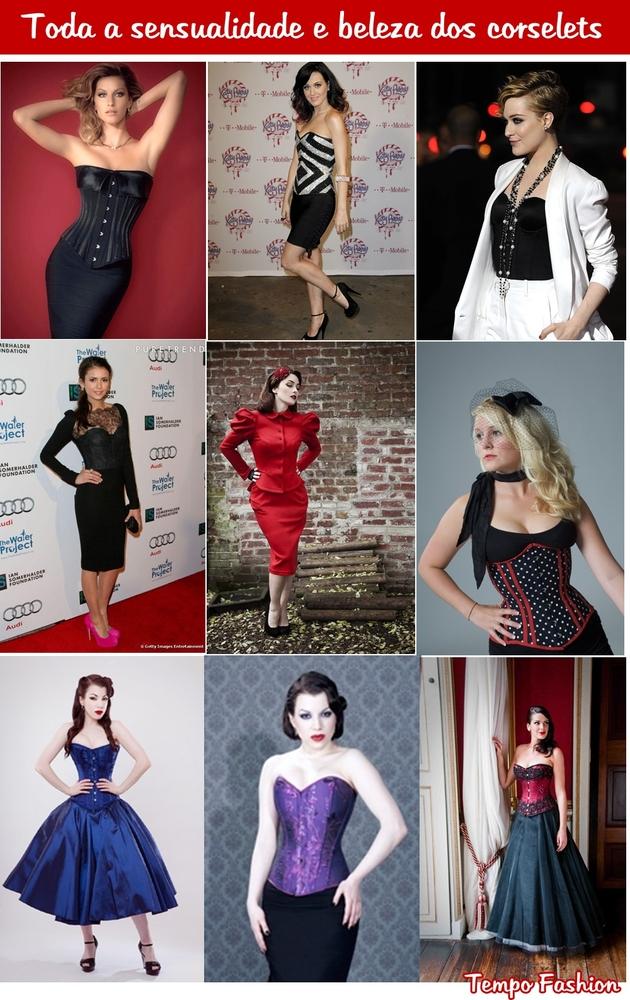 1562e8fe0 Abaixo três modelos de corselets em momentos diferentes para vocês verem  mais ou menos como eles ficam em mim