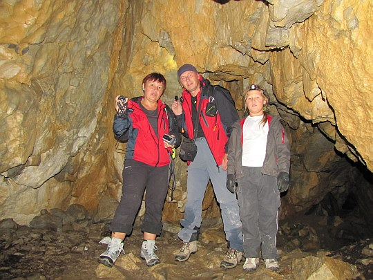 Jaskinia Mylna. Komora Końcowa.