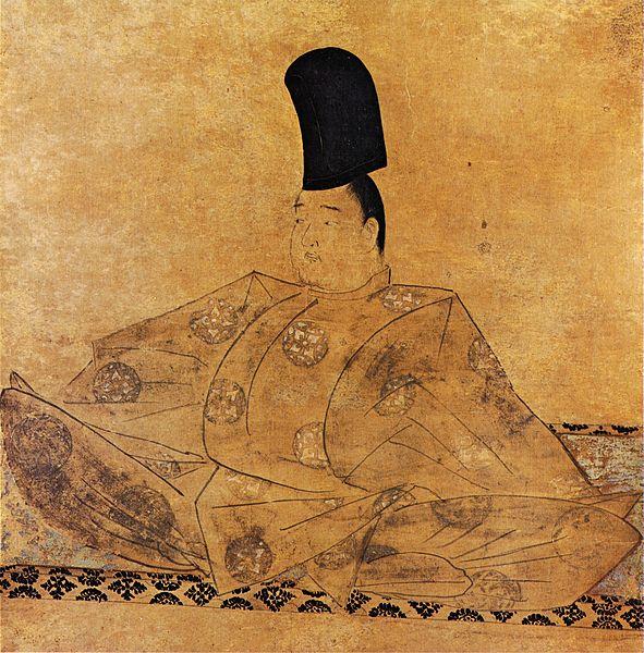 後鳥羽天皇像(伝藤原信実筆、水無瀬神宮蔵) 隆信の子の藤原信実(117...  日本の肖像画史っ