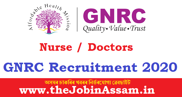 GNRC Hospitals Ltd Recruitment 2020