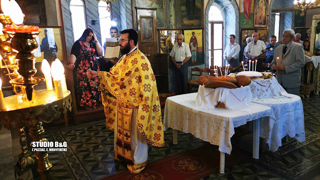 Θεία Λειτουργία για την Αγία Κυριακή στο Λάλουκα Αργολίδας