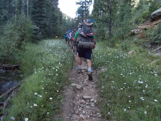 scott's ravings: Philmont Scout Ranch - Day Six - Greenwood Canyon to Copper Canyon Camp