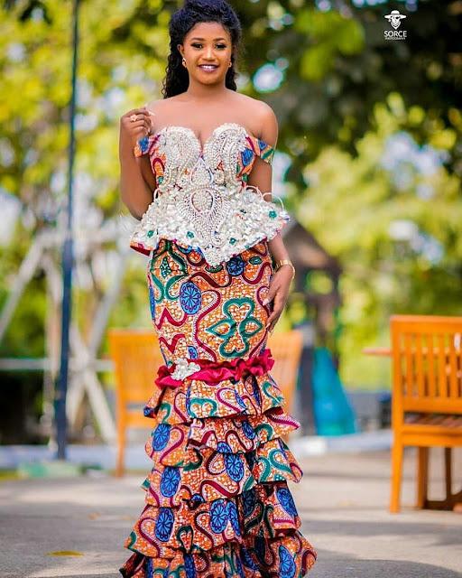 2019 Lovely Ankara Skirt and Blouse Styles