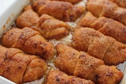 Apple Dumplings #desserts #cakerecipe