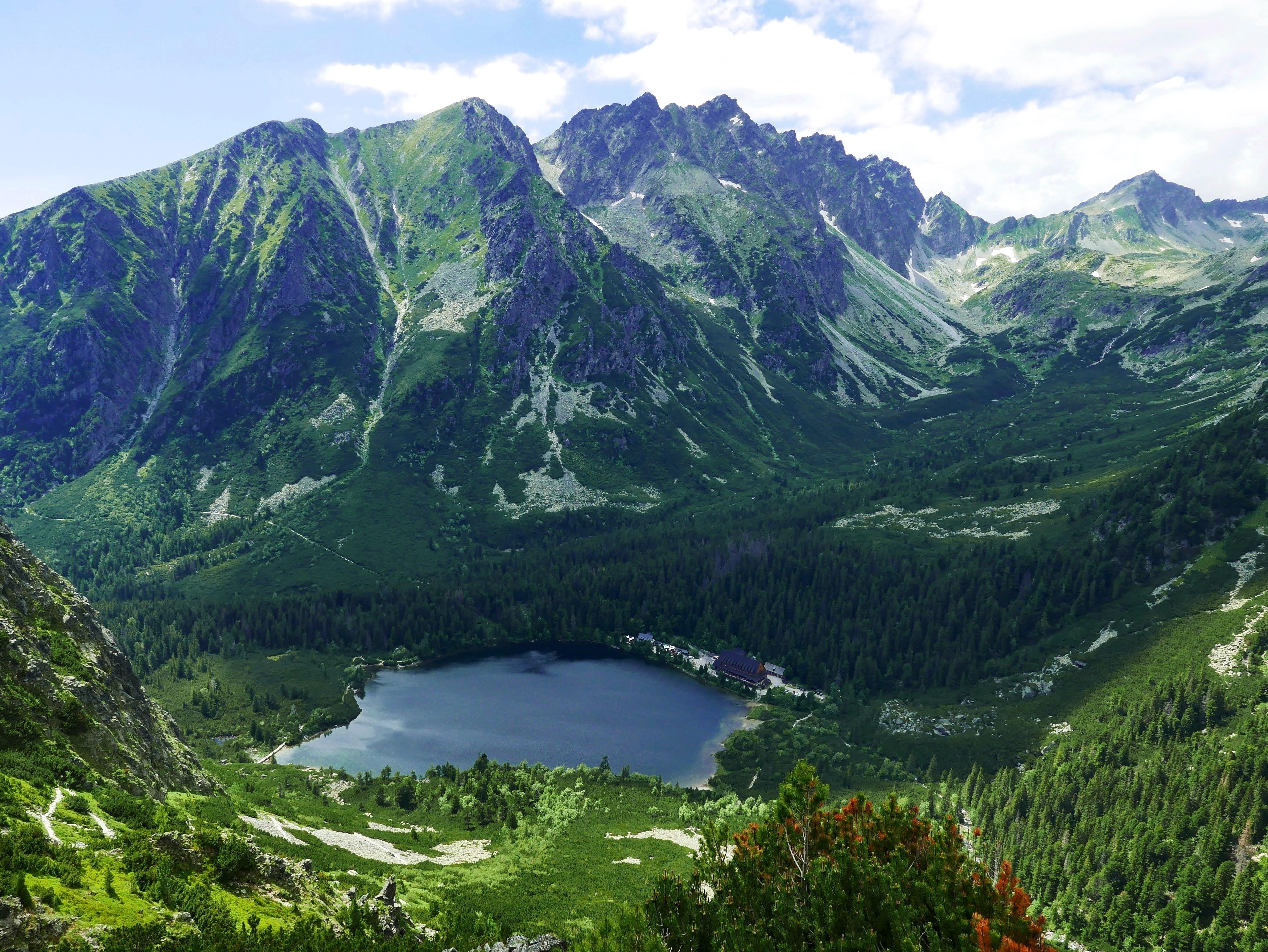 Słowacja, Tatry, panorama z Osterwy