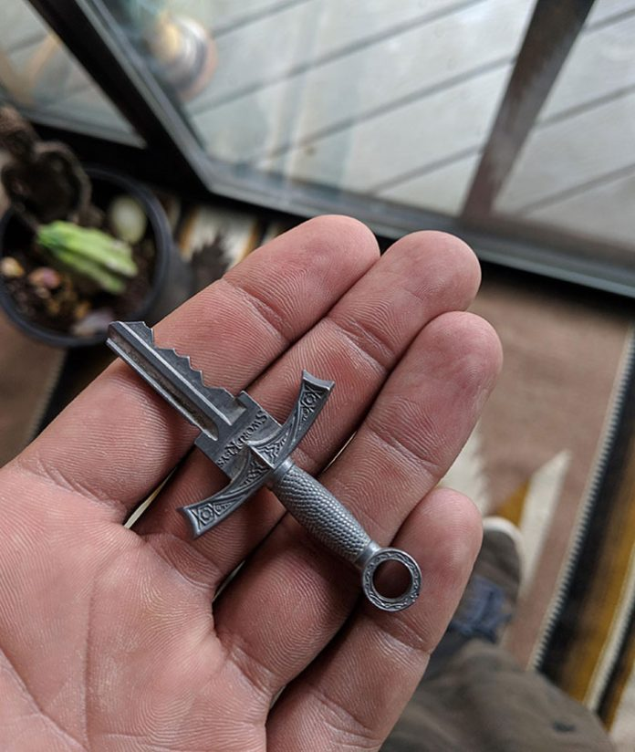 The real key to the real house.