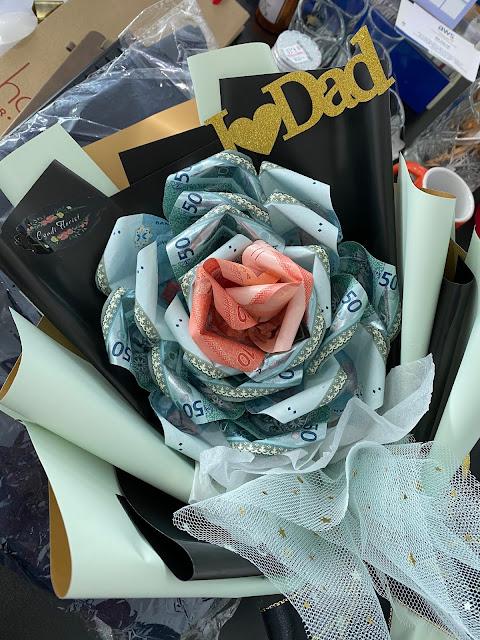 money bouquet flower shopee malaysia