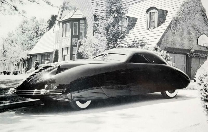 1938 Phantom Corsair: The Regret of a Car Ahead of Its Time ...