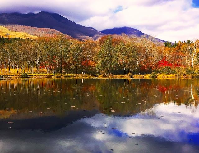 秋の妙高高原の写真