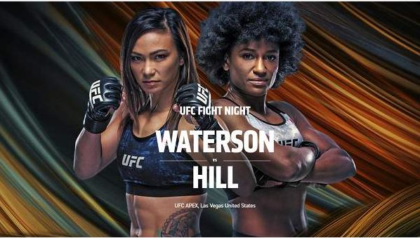 Watch UFC FN 177 Waterson vs Hill 12 September 2020 Full Event Replay Online