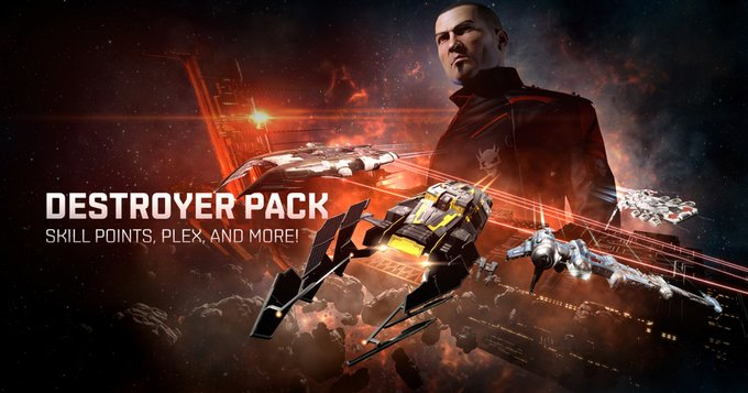 Eve Online Offers New Destroyer Pack
