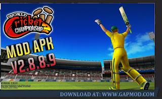 Download World Cricket Championship 2 v2.8.8.9 MOD APK Unlimited Coins/Unlocked
