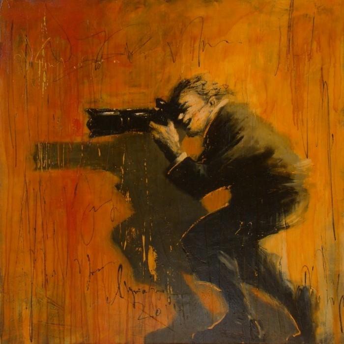 Болгарский художник. Zhivko Mutafchiev