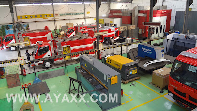 ayaxx fire truck indonesia