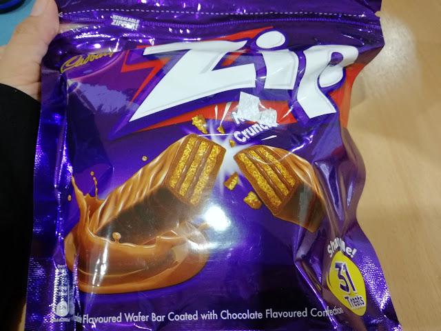 Cadbury Zip Untuk Kawan-kawan Dhia