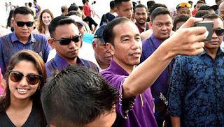 Jokowi Berpesan Kepada Dunia Tentang Kondisi Bali Telah Aman dari Erupsi Gunung Agung