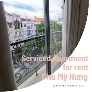 studio serviced apartment for rent phu my hung