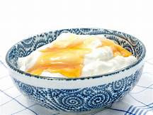 Honey with Greek yogurt