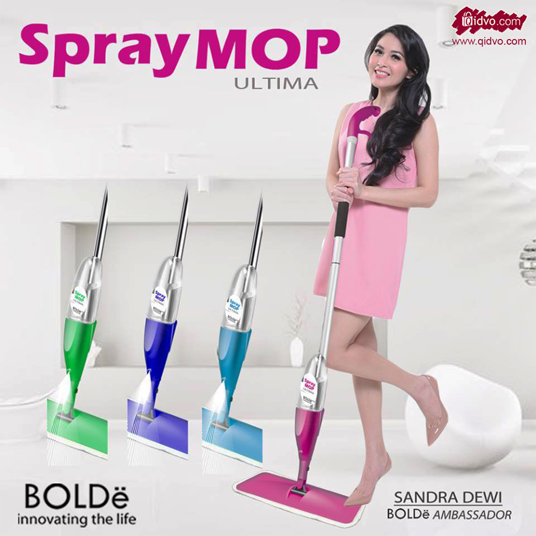 Alat Pel Lantai Semprot SPRAY MOP ULTIMA MINI BOLDE ORIGINAL