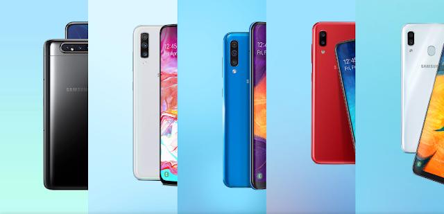 5 Daftar Smartphone Terbaru Samsung 2019