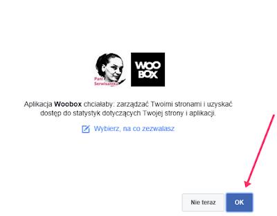 Dodawanie aplikacji do Facebooka
