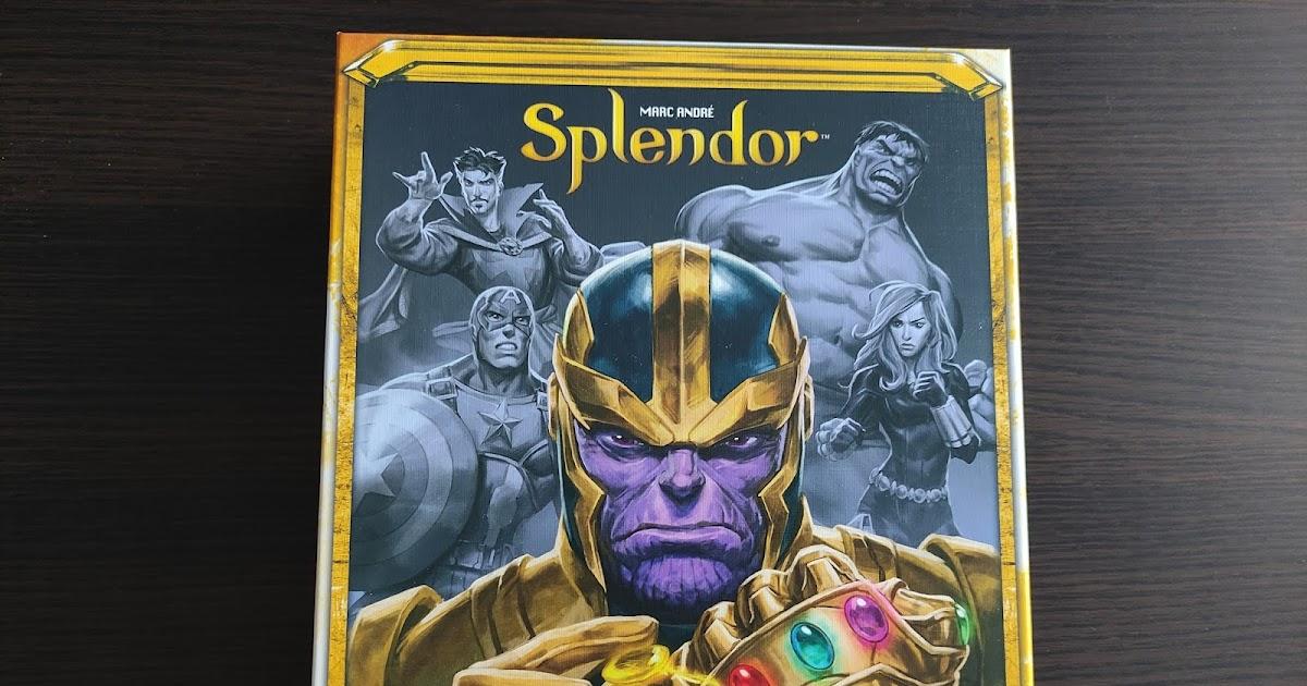Jak z Kamieni Nieskończoności zrobićżetony do pokera? – recenzja gry Splendor Marvel