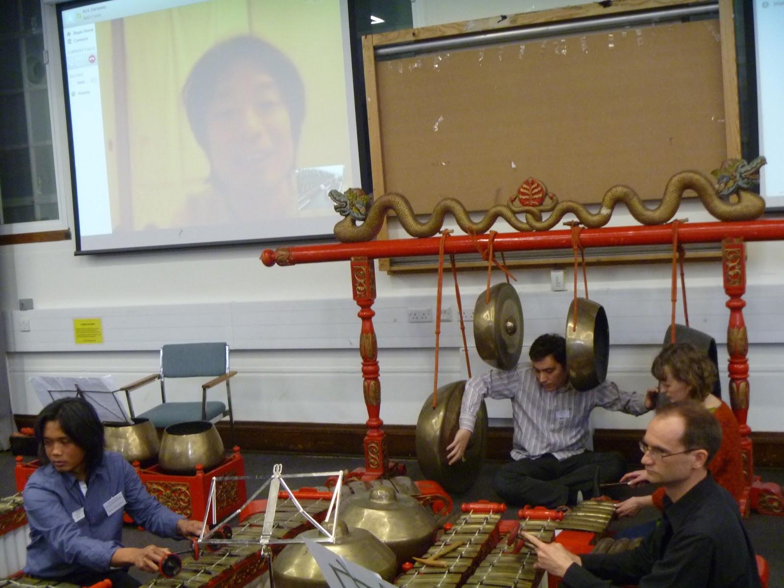 Indonesian performance Gamelan Composers' Forum