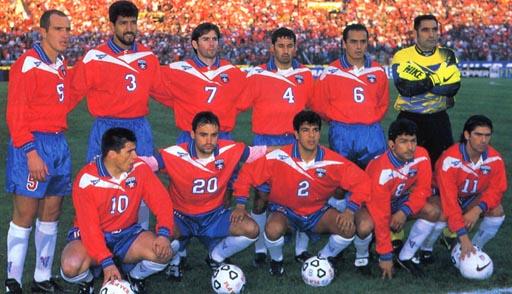 Formación de Chile ante Argentina, Clasificatorias Francia 1998, 10 de septiembre de 1997