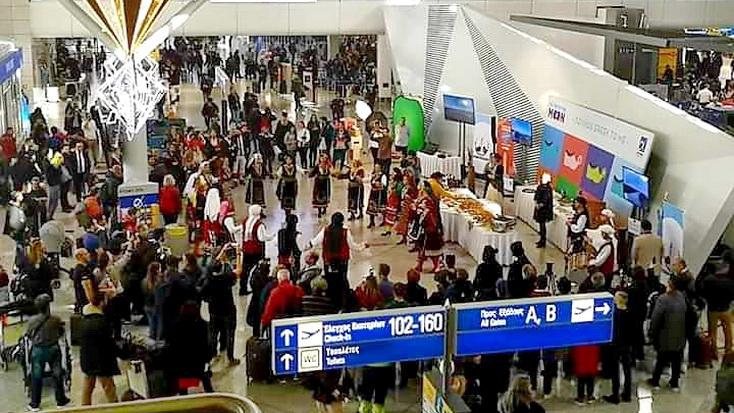 Η Αλεξανδρούπολη κέρδισε τις εντυπώσεις στον Διεθνή Αερολιμένα Αθηνών Ελευθέριος Βενιζέλος