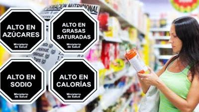 Importancia del etiquetado octogonal obligatorio en alimentos procesados