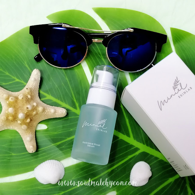 Review; Miniel Skinlab's Hydraque Boost Serum