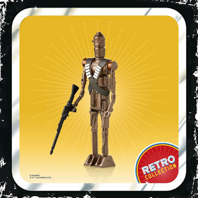 The Mandalorian Star Wars Retro Collection Action Figures