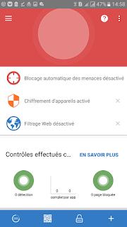 sophos antivirus menu