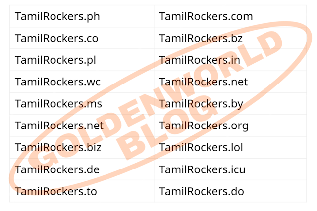 TamilRockers 2020 - Download New Hindi, Tamil, Malayalam & Kannada Movies